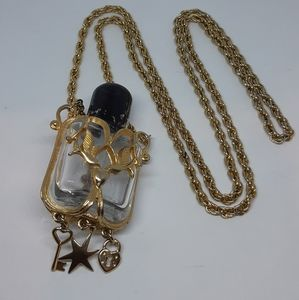 Perfume Decanter Necklace
